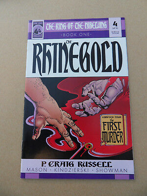 The Ring Of The Nibelung ( The Rhinegold )  4 of 4 . Dark Horse 2000 . VF