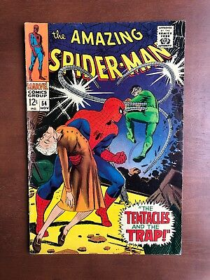 Amazing Spider-Man #54 (1967) 6.0 FN Marvel Key Issue Comic Dr Octopus App