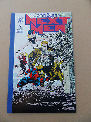 John Byrne's Next Men 7 . Dark Horse 1992 . VF / NM