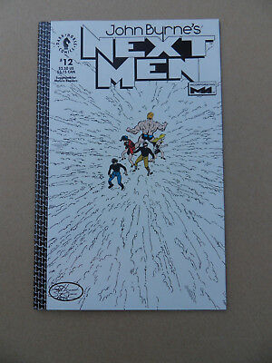 John Byrne's Next Men 12 . Dark Horse 1993 . VF / NM