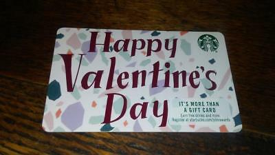 New Starbucks Card 2019 Happy Valentine's Day