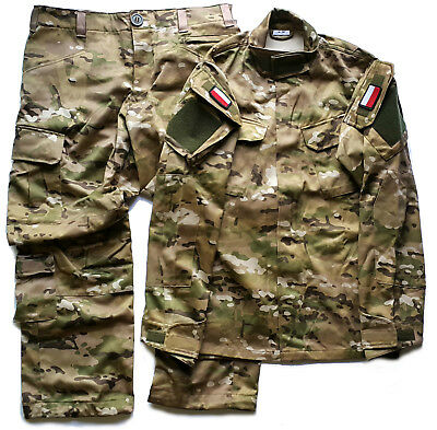 Original Polish Army Pants + Shirt Uniform Multicam - Special Forces Grom 92/175