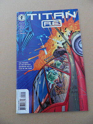 Titan A.E  2 of 3 . Movie / Anime . Al Rio . Dark Horse . 2000 . FN / VF