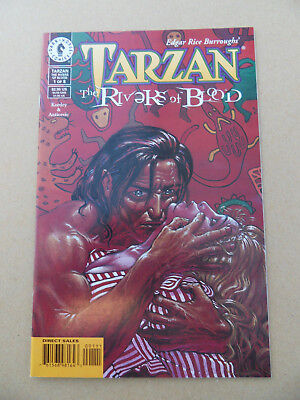 Tarzan : The Rivers Of Blood 1 of 8 . Dark Horse . 1999 . VF +