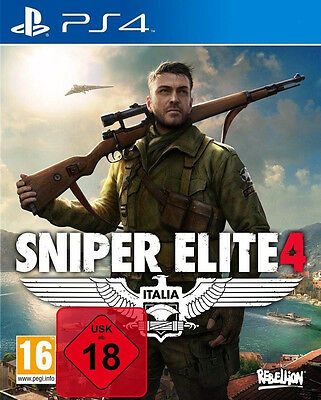 PS4 Spiel Sniper Elite 4 100% UNCUT NEU&OVP Playstation 4