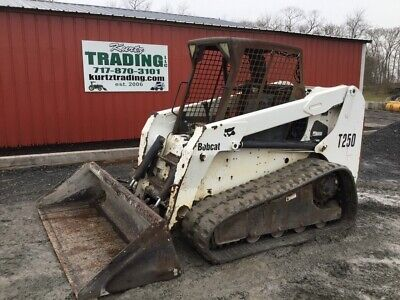 2004 Bobcat T250 Compact Track Skid Steer Loader Coming In