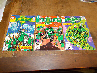 Tales of the Green Lantern Corps, Complete set 3 iss 1-3 DC 1981 1st app Nekron