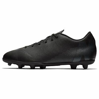 63f5f5de7 Nike Mercurial Vapor Club FG Firm Ground Football Boots Mens Black Soccer  Cleats