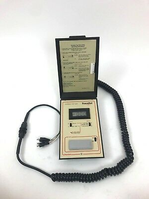 TraceTek TT-PTB-1000 Leak Portable Test Box Digital Display Raychem Case