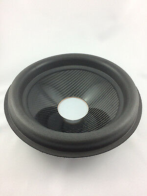 "12"" Subwoofer Speaker Sandwich Carbon Cone with surround 3"" VC Opening"