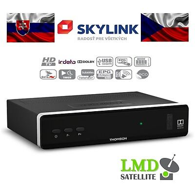 NEW *Slovak and Czech Satellite Tv*Skylink Ready THOMSON THS815 HD FastScan EPG