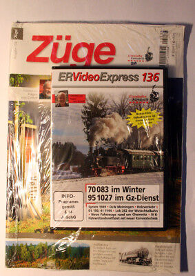 ER Video Express 136: 70 083 im Winter - 95 1027 im Gz-Dienst