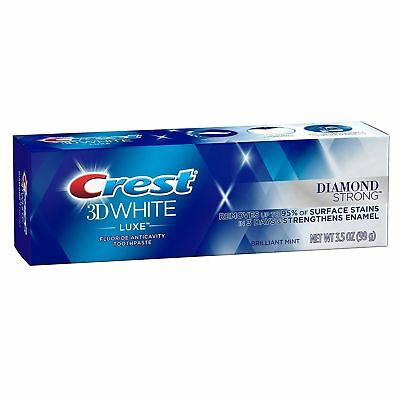 Crest 3D White Luxe Diamond Strong Daily Whitening Toothpaste (99g/3.5oz.)