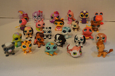 Littlest Pet Shop~Lot 3 RANDOM Walkables~Nice Selection~No Duplicates~Batteries