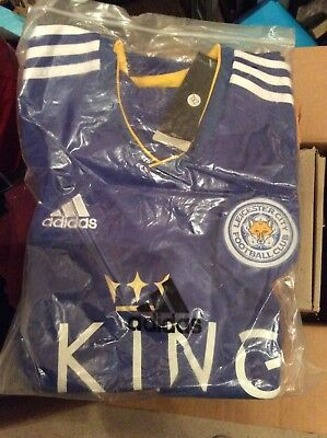 Leicester City Home Football Shirt Size XL Free Postage
