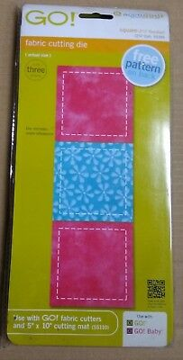 P1 accuquilt GO fabric cutting die arts and crafts   55395 BRAND NEW