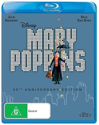 Mary Poppins 50th Anniversary : NEW Blu-Ray
