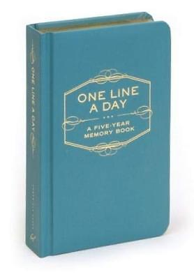One Line a Day A Five-Year Memory Book Journal Writing Creativity Hobbies Diary