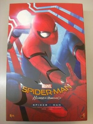 HOT TOYS 1/6 SPIDER-MAN HOMECOMING MMS425 SPIDERMAN USED LIKE NEW Normal Edition