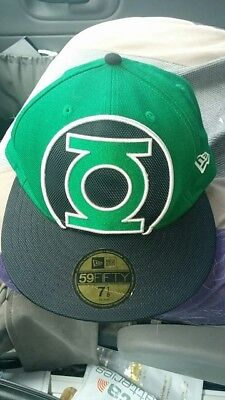 793f615166129 DC Comics Originals Green Lantern New Era 59fifty Fitted Hat..Size 7 1