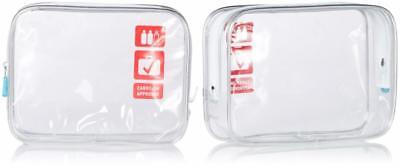 Flight 001 Carry On Clear Quart Bag, Clear, One Size