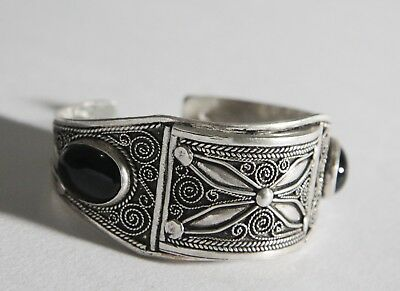 FREE SHIPPING Berber Silver Moroccan Tribal Antique Ethnic Bracelet Vintage 04