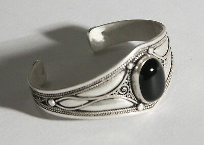 FREE SHIPPING Berber Silver Moroccan Tribal Antique Ethnic Bracelet Vintage 11
