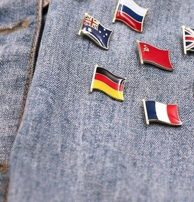 Countries Flag Laple Pin Badge Countries Pin Great Condition