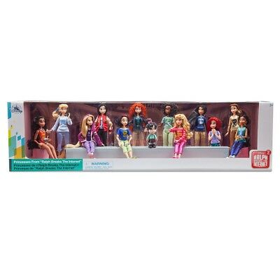 Disney Ralph Breaks the Internet Wreck It Ralph Princesses 13 DOLL Set