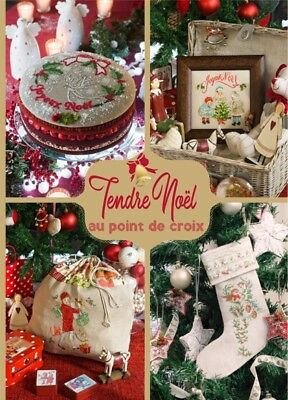 French cross stitch mook Tendre Noel Christmas book Veronique Enginger