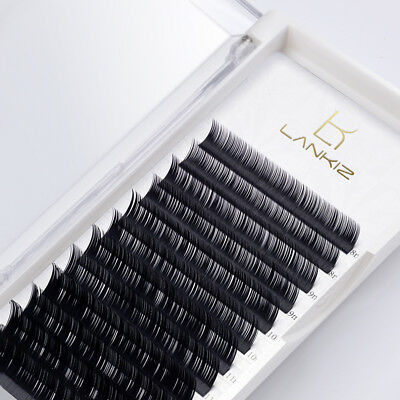 LANKIZ All Size Individual Eyelash Extension Faux Mink Eyelashes Volume Natural