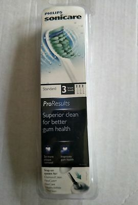 Philips Sonicare HX6013 ProResults Replacement Toothbrush Head x 1 Pack 3 Heads