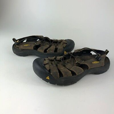 d3dd10328806 KEEN Bungee Brown Closed Toe Trail Hiking Sport Water Sandals Men s US 9