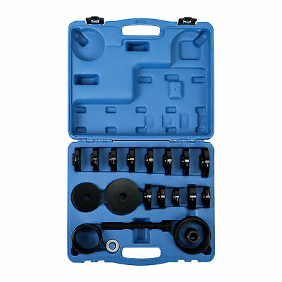 FWD Front Wheel Drive Bearing Puller Pulley Kit 23pcs Removal Adapter Tool
