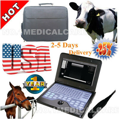 CMS600P2VET Rectal Laptop Ultrasound Scanner Machine Horse/cow Animal Veterinary