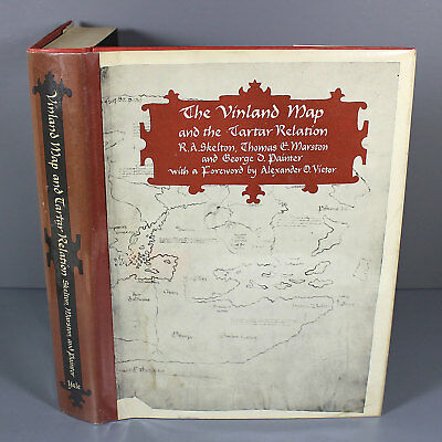 VINLAND MAP AND THE TARTAR RELATION by R.A. Skelton et al - 1966 Hardcover in DJ