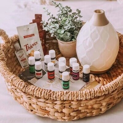 Young Living Essential Oils Premium Starter Kit New with Wholesale Membership