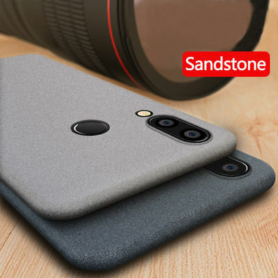 For Huawei P Smart 2019/P30 Pro/Nova 4 Sandstone Silicone Shockproof Case Cover