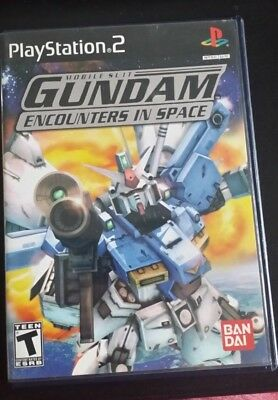 Mobile Suit Gundam: Encounters in Space PS2 (Sony PlayStation 2) Free Shipping