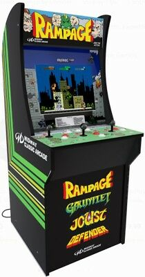 ARCADE1UP RAMPAGE MACHINE 4FT New, Never Used