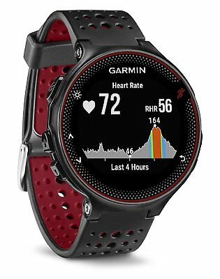 Garmin Forerunner 235 GPS Running Watch w/ Wrist Heart Rate Monitor BLACK/ RED