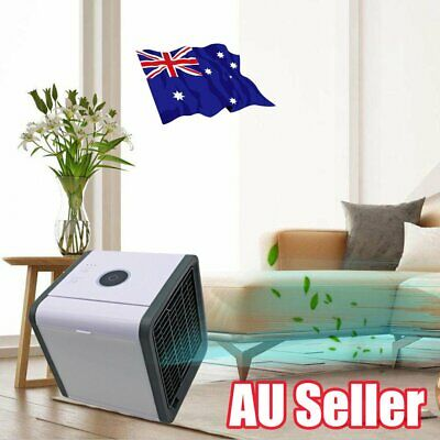 Portable Mini Air Conditioner Cool Cooling For Bedroom Arctic Air Cooler Fan MN