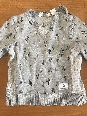 Country Road Baby Boy Girl Unisex Jumper 000 Sweater0-3 Months