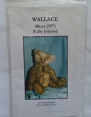 """Wallace"" Bear Pattern"