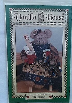 """Thimbles"" Bear Pattern"