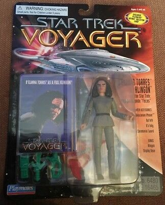 B'elanna Torres As Klingon Star Trek Voyager Playmates With Accessories & Card