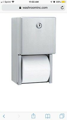 Bobrick B-2888 ClassicSeries® Surface Mounted Multi Roll Toilet Tissue Dispenser