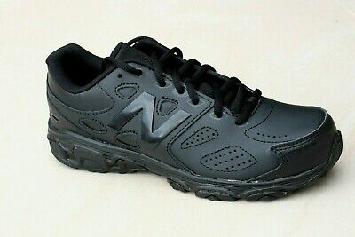 Slazenger Kids Youth Baseline Lace trainers BLACK School shoes runners 3 4 NEW