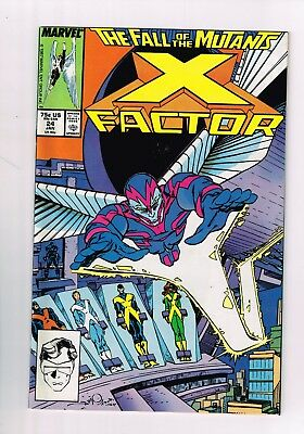 X-Factor (1986 series) #24 NM FIRST APPEARANCE OF ARCHANGEL CGC READY BEAUTIFUL