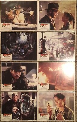 Indiana Jones - Raiders Of The Lost Ark & Temple Of Doom Lobby Card Sets - Ford